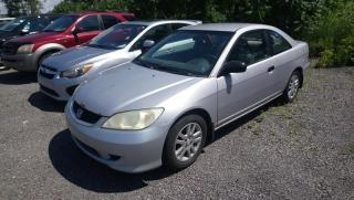 Used 2004 Honda Civic 2 portes Manuelle avec A/C for sale in Boisbriand, QC