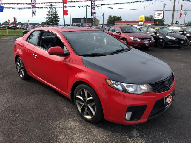 2011 Kia Forte Koup SX|FUN TO DRIVE|HEATED SEATS