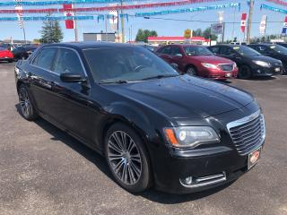 Used 2013 Chrysler 300 300S|PAN ROOF|BACK UP CAM|LEATHER|NAV for sale in London, ON