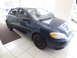 Used 2007 Toyota Corolla CE AUTO TRACTION AVANT A/C for sale in Dorval, QC