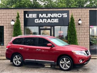 Used 2014 Nissan Pathfinder Platinum for sale in Paris, ON