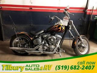 Used 2003 Harley-Davidson 1200 Custom Custom Chopper. for sale in Tilbury, ON