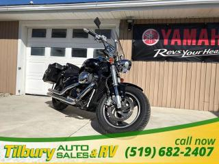 Used 2006 Suzuki Boulevard WITH SADDLE BAGS. 819cc Liquid-cooled engine. for sale in Tilbury, ON