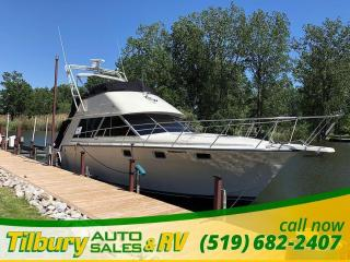 Used 1989 Silverton Marine 40 CONVERTIBLE AMAZING MASSIVE HOUSE BOAT. for sale in Tilbury, ON