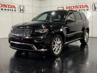 Used 2014 Jeep Grand Cherokee SUMMIT + BAS KILO + WOW!! for sale in St-Basile-le-Grand, QC
