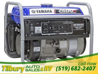 Used 2019 Yamaha EF2600C Generator Generator! for sale in Tilbury, ON