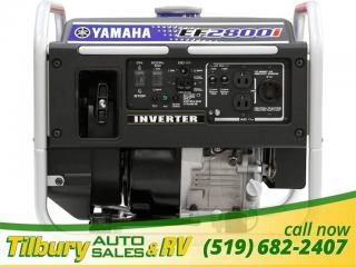 Used 2019 Yamaha EF2800i GENERATOR. for sale in Tilbury, ON