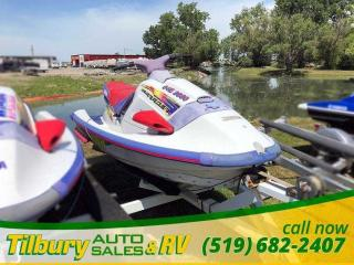 Used 1996 Yamaha Wave Runner WAVERAIDER. 1100 CC. 2 STROKE. for sale in Tilbury, ON