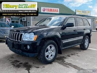 Used 2007 Jeep Grand Cherokee Limited for sale in Tilbury, ON
