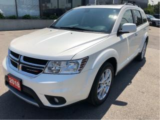 Used 2018 Dodge Journey GT AWD w/Sunroof, DVD, Navi, Leather, Backup Cam for sale in Hamilton, ON