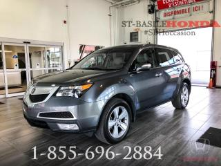 Used 2012 Acura MDX BAS KILOMETRAGE + TECH + NAV + 7 PLACES for sale in St-Basile-le-Grand, QC