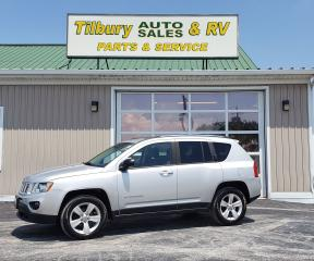 Used 2012 Jeep Compass SPORT*Heated Seats*Sun Roof*4WD* for sale in Tilbury, ON