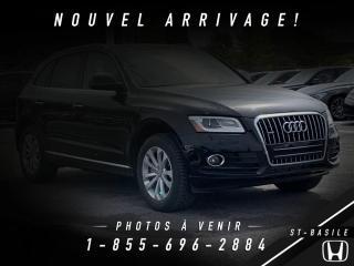 Used 2015 Audi Q5 2.0T PROGRESSIV + QUATTRO for sale in St-Basile-le-Grand, QC