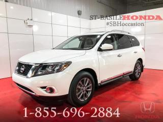 Used 2015 Nissan Pathfinder SL + AWD + NAVI + TOIT + WOW ! for sale in St-Basile-le-Grand, QC