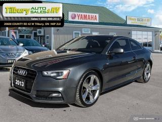 Used 2013 Audi A5 2.0T Premium*S LINE*AWD*AUTOMATIC* for sale in Tilbury, ON