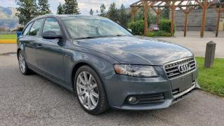 Used 2010 Audi A4 Avant 2.0T QUATTRO TIPTRON for sale in West Kelowna, BC