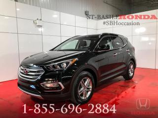Used 2018 Hyundai Santa Fe Sport SPORT + BLUETOOTH + HITCH + A/C + WOW for sale in St-Basile-le-Grand, QC