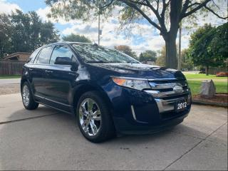 Used 2012 Ford Edge SEL for sale in Tilbury, ON