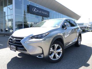 Used 2017 Lexus NX 200t 6A Fall Special, Exec PKG, NO Accidents for sale in North Vancouver, BC