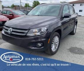 Used 2016 Volkswagen Tiguan Special Edition for sale in Rouyn-Noranda, QC