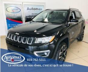 Used 2018 Jeep Compass LIMITED for sale in Rouyn-Noranda, QC