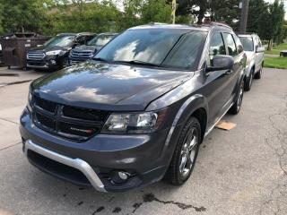 Used 2016 Dodge Journey FWD 4dr Crossroad 7 PASSENGER. LEATHER for sale in Toronto, ON