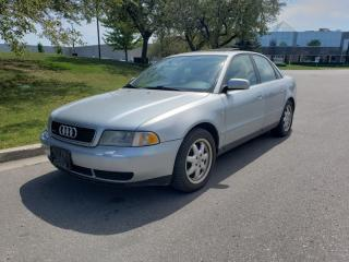 Used 1999 Audi A4 Quattro 4dr Sdn 1.8T Quattro AWD for sale in Vaughan, ON