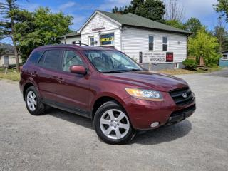 Used 2007 Hyundai Santa Fe LOW KMS AWD GLS Leather Sunroof  V6 3.3L for sale in Sutton, ON