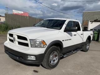 Used 2011 RAM 1500 Cabine quad 4RM, 140,5 po SLT for sale in Montréal-Nord, QC