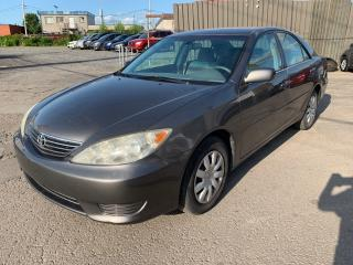 Used 2005 Toyota Camry 4DR SDN LE AUTO for sale in Montréal-Nord, QC