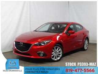 Used 2015 Mazda MAZDA3 GT|CUIR|TOITOUV|AUDIOBOSE|GPS| for sale in Drummondville, QC