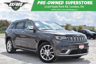 Used 2019 Jeep Grand Cherokee Summit 4x4 - Top of the Line, Sunroof, Management for sale in London, ON