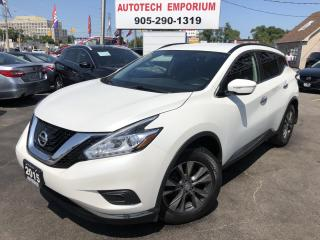 Used 2015 Nissan Murano NAVIGATION/CAMERA/HEATED SEATS/BLUETOOTH/ALLOYS for sale in Mississauga, ON