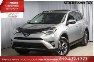 Used 2017 Toyota RAV4 XLE+ TOIT*DÉTECTION ANGLE MORT* for sale in Drummondville, QC