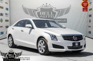 Used 2014 Cadillac ATS Luxury AWD, NO ACCIDENT, BACK-UP CAM, BLUETOOTH for sale in Toronto, ON