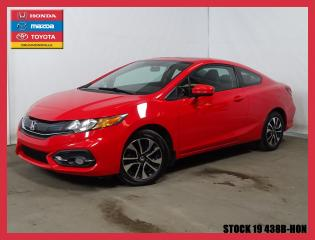 Used 2014 Honda Civic EX+SIÈGCHAUFF+MAG+BLUETOOTH+A/C for sale in Drummondville, QC