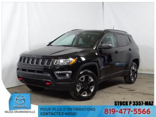 Used 2018 Jeep Compass Trailhawk 4X4 TOITPANO GPS CUIR MAG GARANTIE!! for sale in Drummondville, QC
