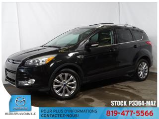 Used 2015 Ford Escape |Titanium|AWD|TOITPANO|GPS|CUIR|GROSSE ECRAN| for sale in Drummondville, QC
