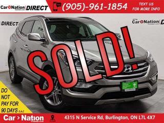 Used 2018 Hyundai Santa Fe Sport 2.4 Luxury| AWD| NAVI| PANO ROOF| LEATHER| for sale in Burlington, ON