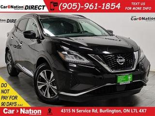 Used 2019 Nissan Murano SV| AWD| NAVI| PANO ROOF| for sale in Burlington, ON