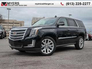 New 2019 Cadillac Escalade Platinum  - Sunroof - Navigation for sale in Ottawa, ON