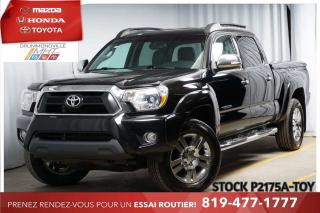 Used 2015 Toyota Tacoma LIMITED* 4X4* NAV* CUIR* JANTES* SIÈGES CHAUFF.** for sale in Drummondville, QC