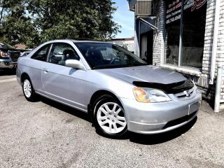 Used 2002 Honda Civic Coupé 2 portes, boîte manuelle - Si for sale in Longueuil, QC