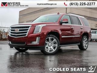 Used 2019 Cadillac Escalade Luxury  - Sunroof - Navigation for sale in Ottawa, ON