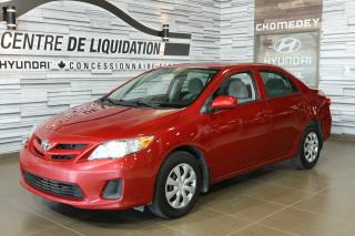 Used 2011 Toyota Corolla AIR CLIM for sale in Laval, QC