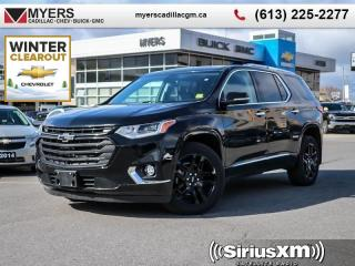 New 2019 Chevrolet Traverse Premier  DEMO PRICING, LIKE NEW! LOADED, 0% FINANCE for sale in Ottawa, ON