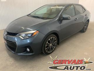 Used 2016 Toyota Corolla S Cuir/Tissus Toit Ouvrant MAGS Bluetooth for sale in Shawinigan, QC