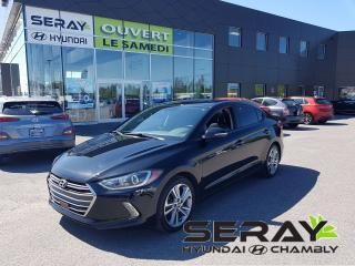 Used 2017 Hyundai Elantra SE!! 32466km !! mags, cuir, toit, dual a/c for sale in Chambly, QC