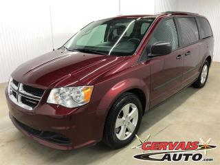Used 2016 Dodge Grand Caravan Canada Value Package MAGS 7 passagers *Bas Kilométrage* for sale in Shawinigan, QC