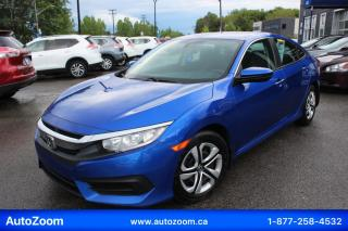 Used 2016 Honda Civic LX **WOW** FINANCEMENT FACILE !! for sale in Laval, QC